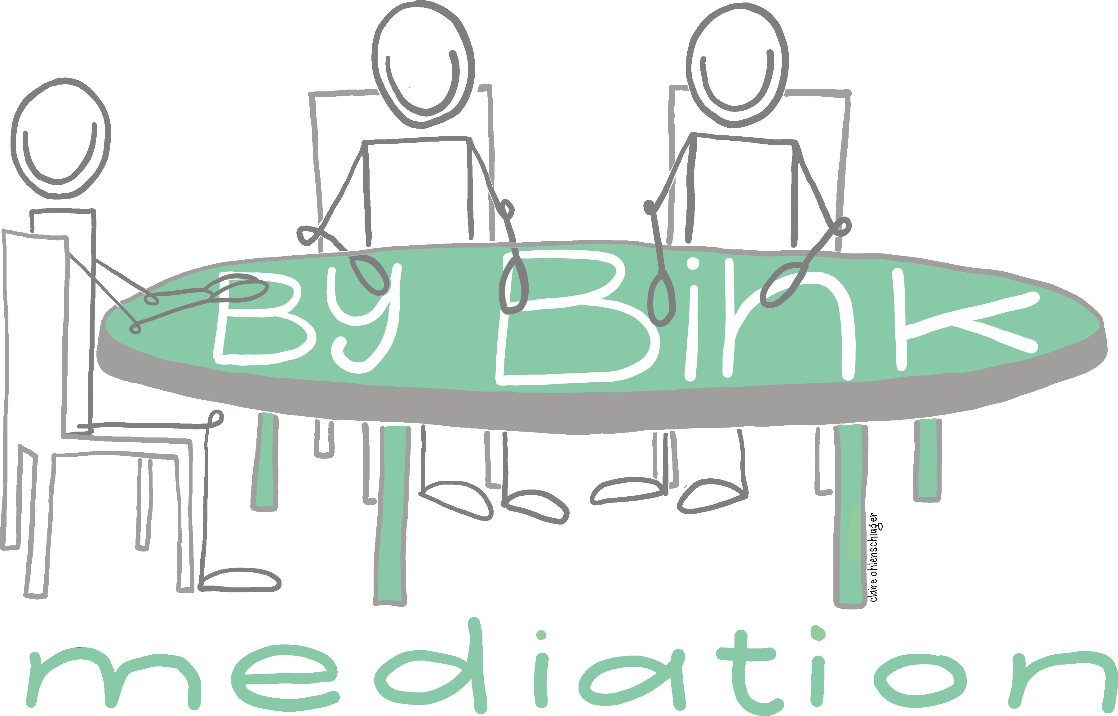 Bij Bink mediation - Tekening 1